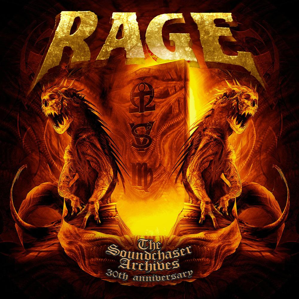 Rage 3-CD The Soundchaser Archives